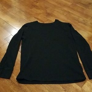 Boys black long sleeved shirt